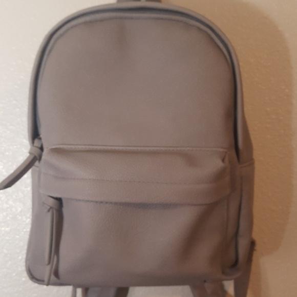 419cec412200 Handbags - Grey Mini Backpack